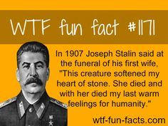 (SOURCE) - Joseph Stalins wife MORE OF WTF-FUN-FACTS are coming HERE funny and weird factsONLY