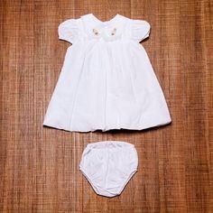 Roupa Bebe Menina Para Batizado - R$ 99,00 no MercadoLivre