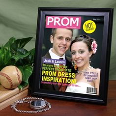 Personalize it on a magazine cover