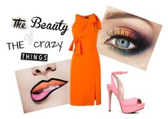 """""""The Beauty Of The Crazy Things"""" by daniela-vieira-2001 ❤ liked on Polyvore featuring PBteen, Versace, ALDO, Urban Outfitters and Pottery Barn"""