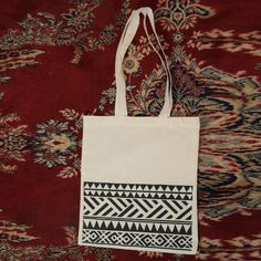 Cotton tote bag design by Eefje de Bruijn for Attic Empire