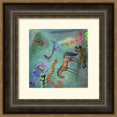 Pussyhat Framed Print featuring the painting Pussyhat Energy by Marti McGinnis