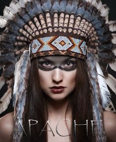 so pretty-I know my friend Teresa could do this American Indian Girl, American Indian Tattoos, Native American Girls, Native American Images, Native American Artwork, Native American Symbols, Native American Beauty, Native American History, American Indians