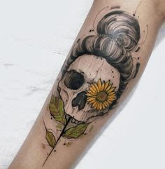 Image result for small sunflower tattoos