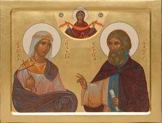 Religious Icons, Religious Art, Olga Of Kiev, Saints, Princess Zelda, Painting, Fictional Characters, Van, Byzantine Icons