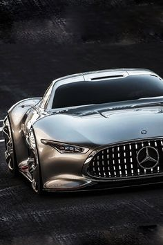 Mercedes AMG Vision Gran Turismo Such A Shockingly Beautiful Car!