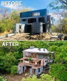 Building A Container Home, Container Buildings, Small House Design, Modern House Design, Shipping Container Home Designs, Shipping Containers, Australia Living, Future House, Building A House