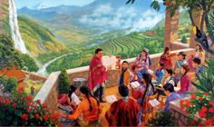 """jehovah's witnesses artwork 