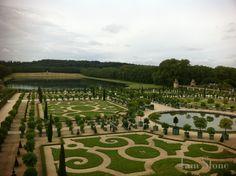 Jardins du Chateau de Versailles (Gardens of Versailles) | Paris, France, c. 1661... via Tam Stone...
