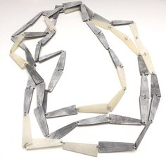 Pyramid necklace. Genevieve Williamson