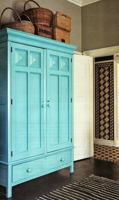 signed by tina: the turquoise palette....Love ALL the hues in this room!