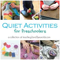 Literacy Activities for Preschoolers - Teaching 2 and 3 Year Olds