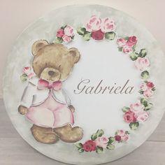 Bear Paintings, Cute Paintings, Ted Bear, Tatty Teddy, Cute Bears, Tole Painting, Flower Cards, Watercolor Art, Illustration