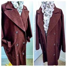 New arrival : Vintage 90s Kors designer wool coat #vintagefashion #woolcoat #ChicDeVintage1 #etsy #newitem #vintage90s