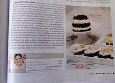 Revista Para Ti Desserts, Food, Food Cakes, Sweets, Printing Press, Recipes, Tailgate Desserts, Meal, Dessert