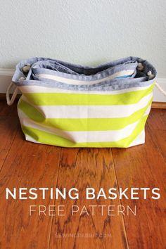 Nesting Baskets Pattern