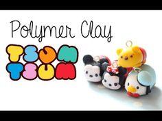 DIY Polymer Clay How-To: [4 in 1] Disney Tsum Tsum Tutorial - YouTube