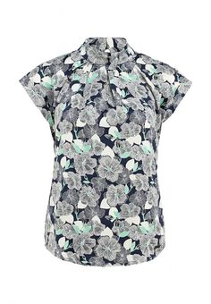 Блуза Pepe Jeans женская. Цвет: синий. Сезон: Весна-лето 2014. С бесплатной доставкой и примеркой на Lamoda. http://j.mp/1uOZGWQ