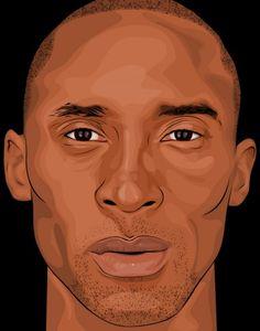 Kobe Bryant Portrait