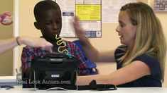 """""""Communication Device"""" Real Look Autism Episode 8 - This video for Real Look Autism.com shows us how assistive communication technology is helping a nonverbal, 7-year old boy """"talk"""". Matthew started using PECS and then through the school system was able to get a communication device. He is finding his voice!"""