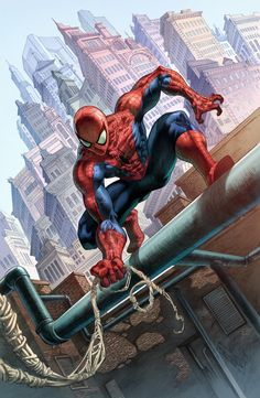#Spiderman Commission Colors by quahkm on deviantART