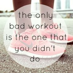 True! #workoutwednesdays #noexcuses