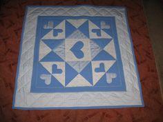 Hand Made by Vave: patchwork: Srdíčka pro Matýska