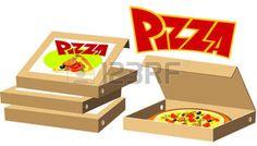 caja de pizza animada - Buscar con Google
