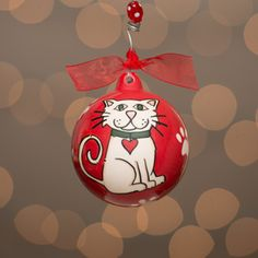 Glory Hauus Cat Christmas Ornament