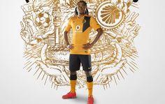 Kaizer Chiefs 2014/15 Nike Home and Away Kits