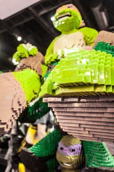 PotD: #TMNT Power - #ComicCon 2013 — Tea Leaf On The Wind Photography - Jeremy Asher Fried