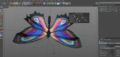 Free Butterfly Xpresso Rig - The Pixel Lab Ios Design, Dashboard Design, Graphic Design, Cinema 4d Tutorial, 3d Tutorial, User Experience Design, Customer Experience, Day Designer, Interactive Design