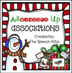 """FREE LANGUAGE ARTS LESSON - """"All Wrapped Up Associations"""" - Go to The Best of Teacher Entrepreneurs for this and hundreds of free lessons. Pre-Kindergarten - 2nd Grade  #FreeLesson  #LanguageArts  #Christmas  http://www.thebestofteacherentrepreneurs.net/2015/12/free-language-arts-lesson-all-wrapped.html"""