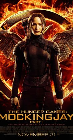 Directed by Francis Lawrence.  With Jennifer Lawrence, Josh Hutcherson, Liam Hemsworth, Woody Harrelson. Katniss Everdeen is in District 13 after she shatters the games forever. Under the leadership of President Coin and the advice of her trusted friends, Katniss spreads her wings as she fights to save Peeta and a nation moved by her courage.