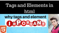 why Tags and Element in html are so important. Learn about HTML elements and tags - HTML and CSS tutorial. In this HTML tutorial you will learn about HTML el. Hacker World, Html Tutorial, First Website, 100 Words, Facebook Photos, Tags, Learning, Youtube, Study