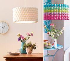 trendy ideas for room decor diy for teens lights lamp shades Diy Room Decor For Teens, Diy For Teens, Diy Home Decor, Diy Luz, Diy Home Accessories, Diy Chandelier, Ball Lights, Lamp Shades, Decoration