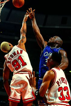 www.asportinglife.co  #Shaq over #Rodman #baseketball