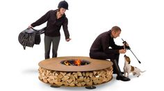 Zero outdoor fireplace by AK47