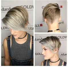 Just love when stylist realize how important it is to take multiangle shots for pixiecuts. This stylist is @dillahajhair and his cuts just rock
