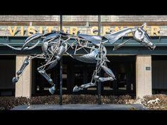 Adrian Landon Mechanical Horse - YouTube