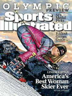 Lindsey Vonn Sports Illustrated Cover #plaid