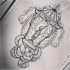 Miss Juliet tattoo lantern