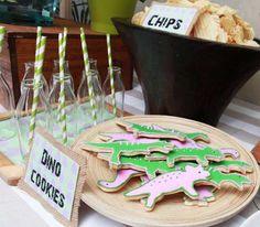 Dinosaur Birthday Party - 5th Birthday Ideas - Spaceships and Laser Beams