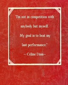 Celine is right! Haha. I see it a lot with moms. Don't compete with others. Just worry about your own life and kids and try to make it better. Thats what i strive for daily! I think everyone is brilliant in their own way <3