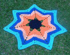 Ripple Rag Rug.  My Rag Crochet Blog: helenacc.blogspot.com.br