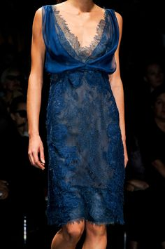 Alberta Ferretti at Milan Fashion Week Spring 2013 - StyleBistro