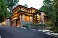 Beautiful classic yet modern home #modern #hardware #specialty #custom explore specialtydoors.com