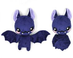 bat plush - Sew Desu Ne?