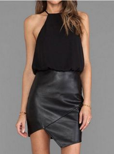 twinkledeals | sleeveless halter dress