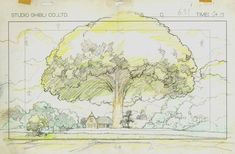 In Paris, An Exhibition That Showcases 1,300 Storyboards By Studio Ghibli - DesignTAXI.com
